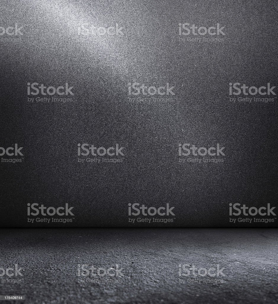 concrete wall and floor stock photo