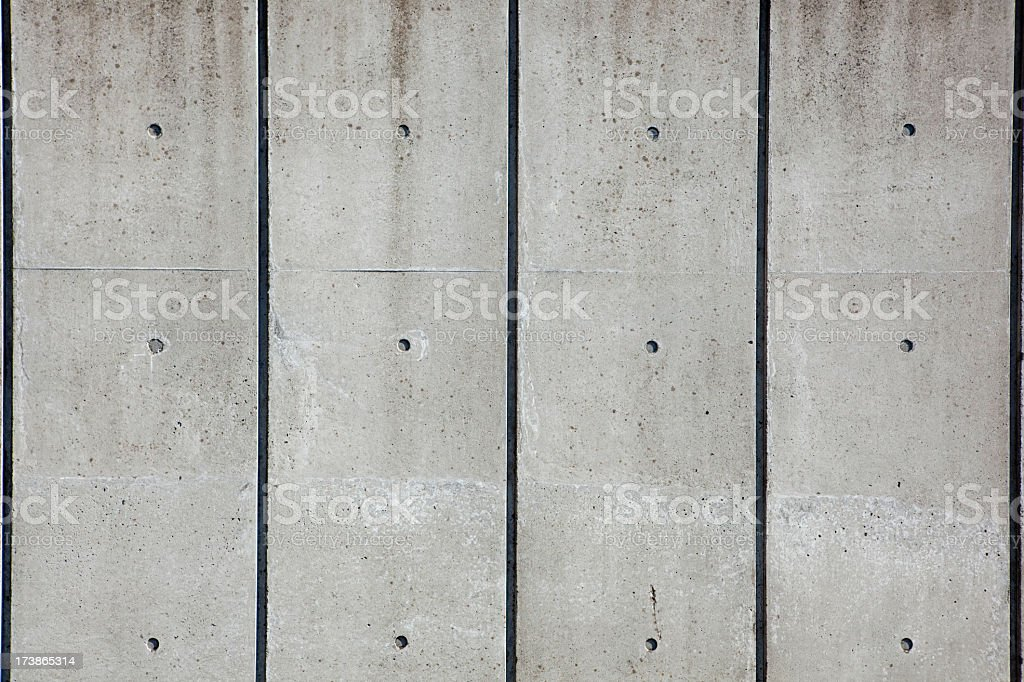 Concrete wall as background or backdrop royalty-free stock photo