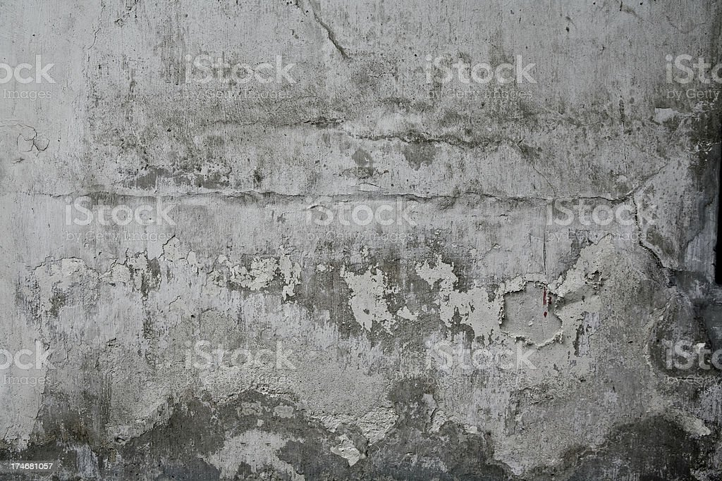 Concrete Wall Grunge royalty-free stock photo