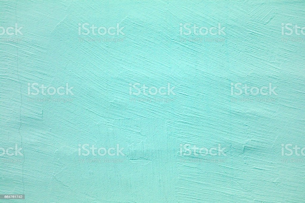 concrete wall of light blue color, cement texture background stock photo