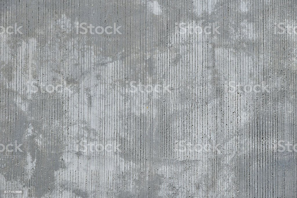 Concrete wall with traces from rubbed finish processing royalty-free stock photo