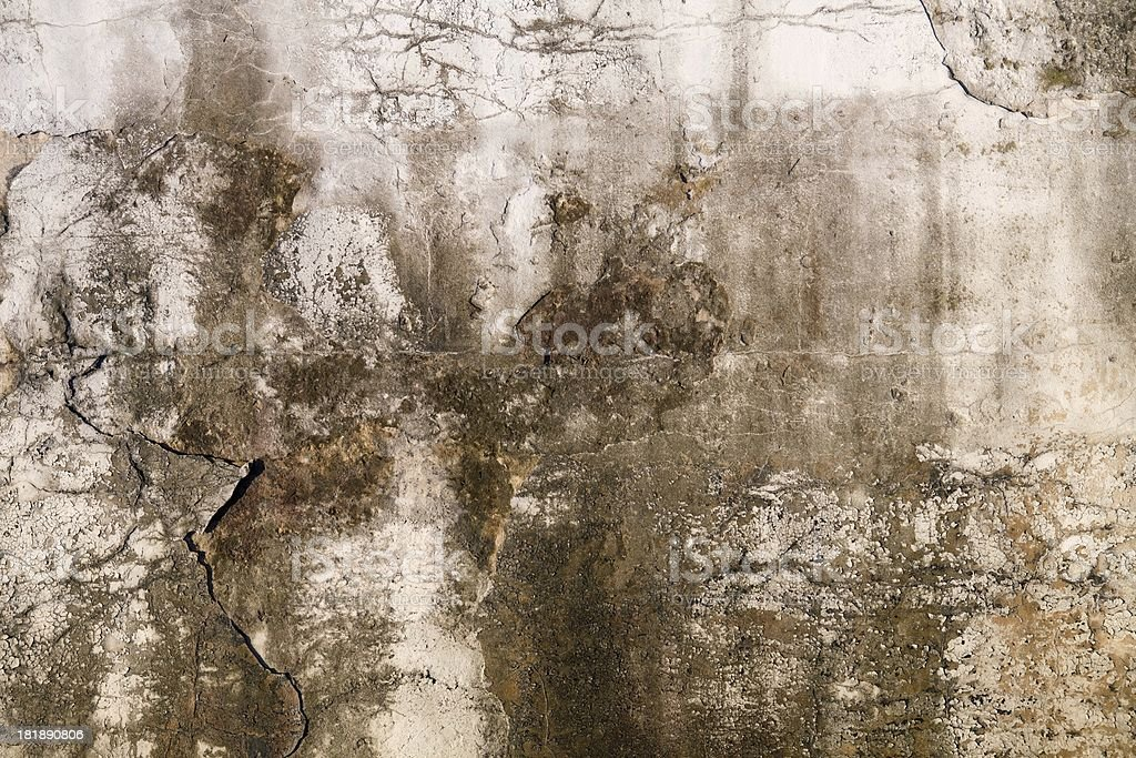 Concrete walls with stains background pattern royalty-free stock photo