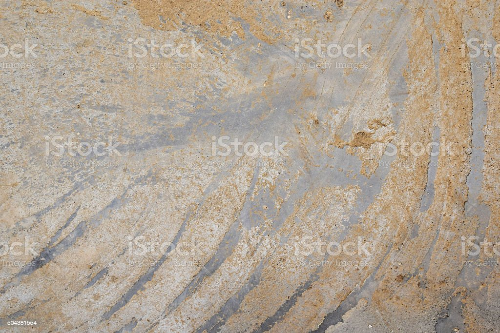 Concrete with dirty diagonal strokes on cement royalty-free stock photo