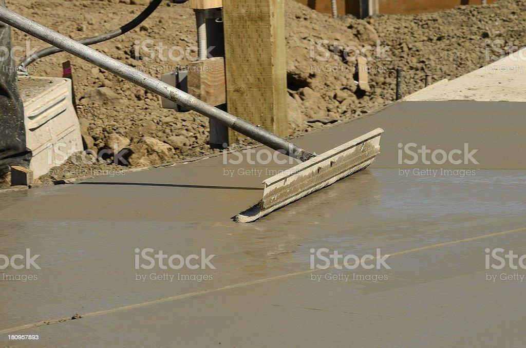 Concrete Work royalty-free stock photo