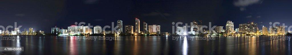 Condado Puerto Rico stock photo