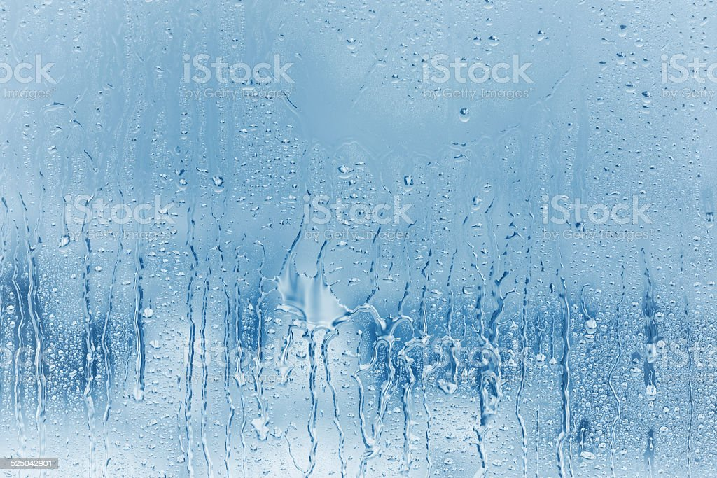 condensation on a window stock photo