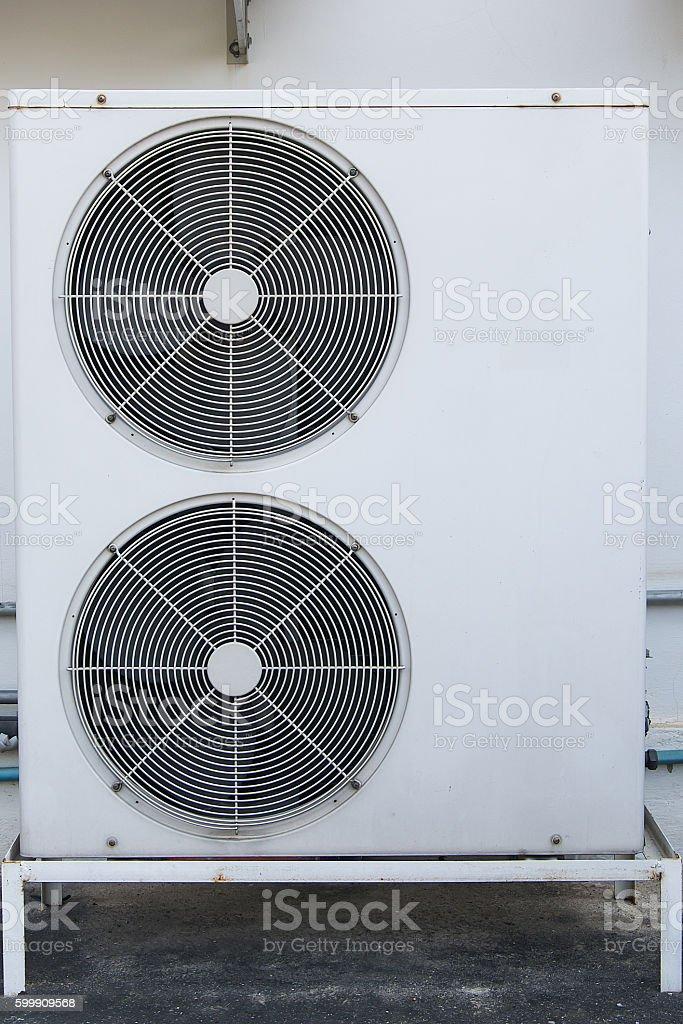 Condenser air stock photo