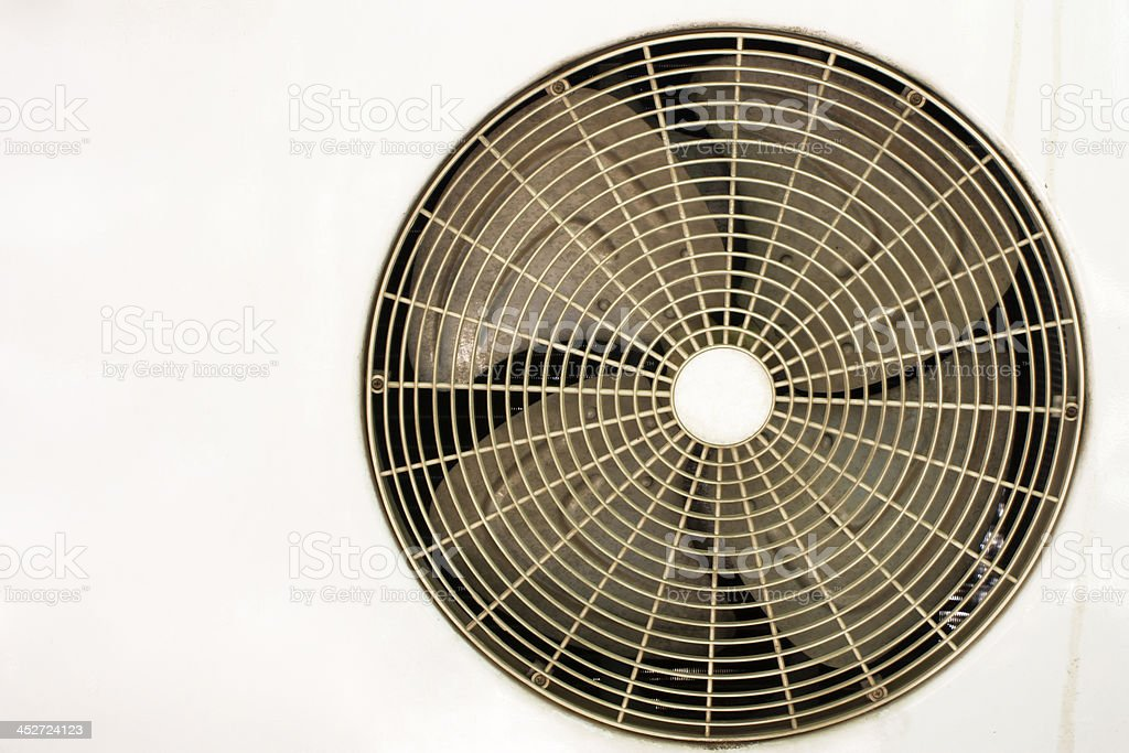 AC condenser fan. royalty-free stock photo