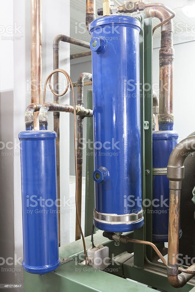 Condenser royalty-free stock photo