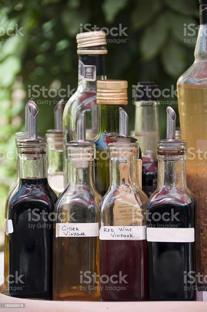 Condiments stock photo