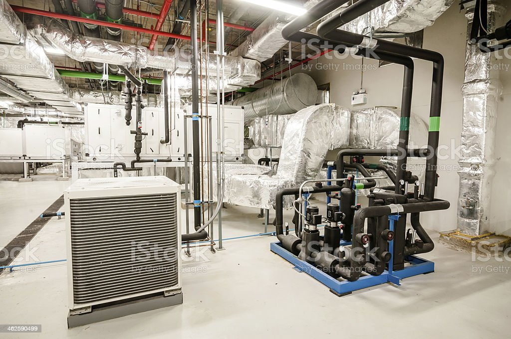 Conditioning systems stock photo