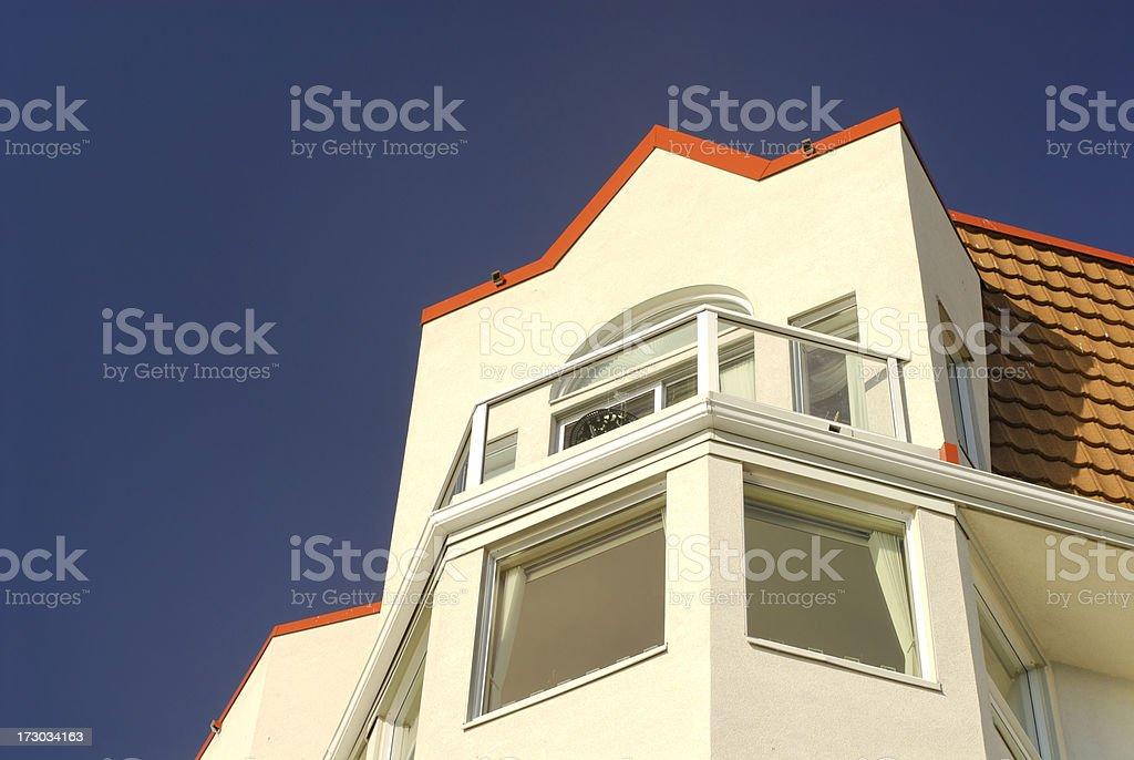 Condo Architecture stock photo