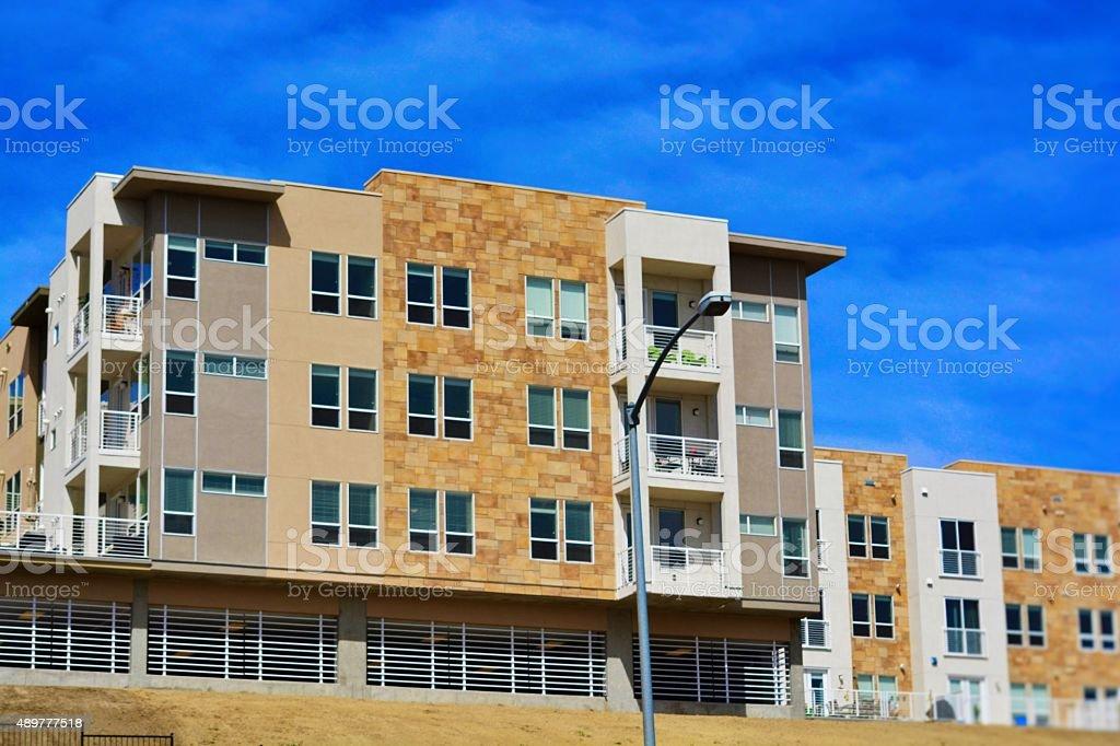 Condo Building stock photo
