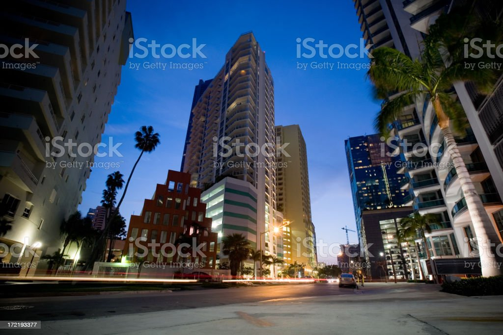 Condo Estates royalty-free stock photo