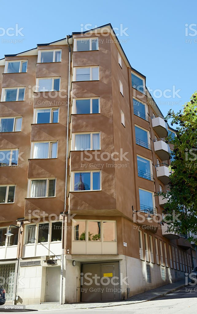 Condo, Stockholm stock photo
