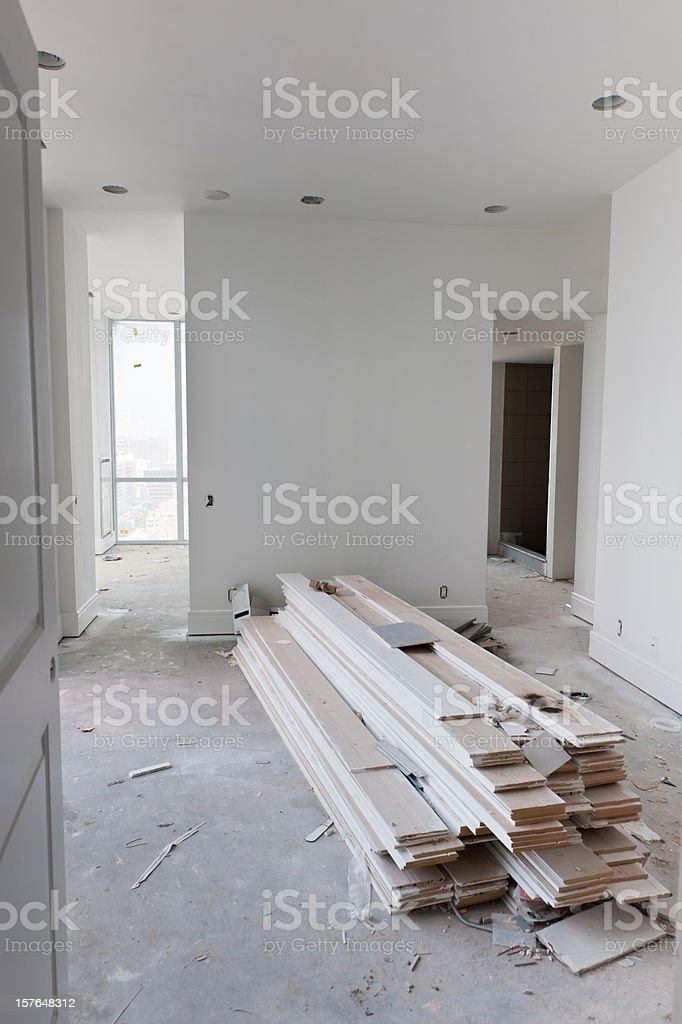 Condo Under Construction royalty-free stock photo