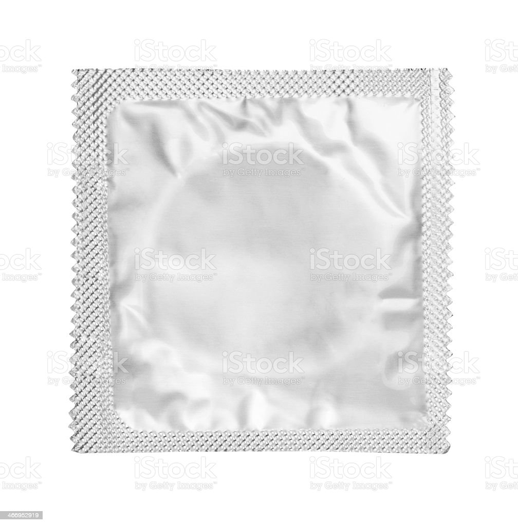 Condom stock photo
