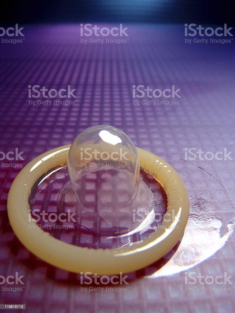 Condom, Unused royalty-free stock photo