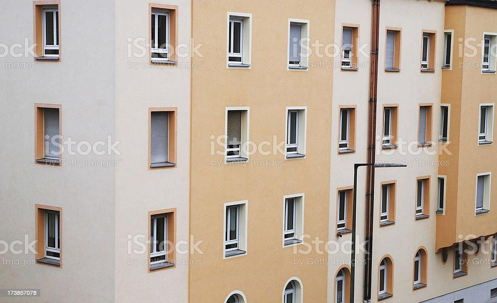 condominium appartment dwelling royalty-free stock photo