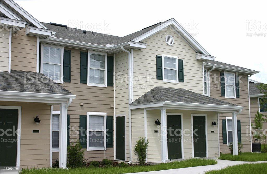 Condominium Community royalty-free stock photo