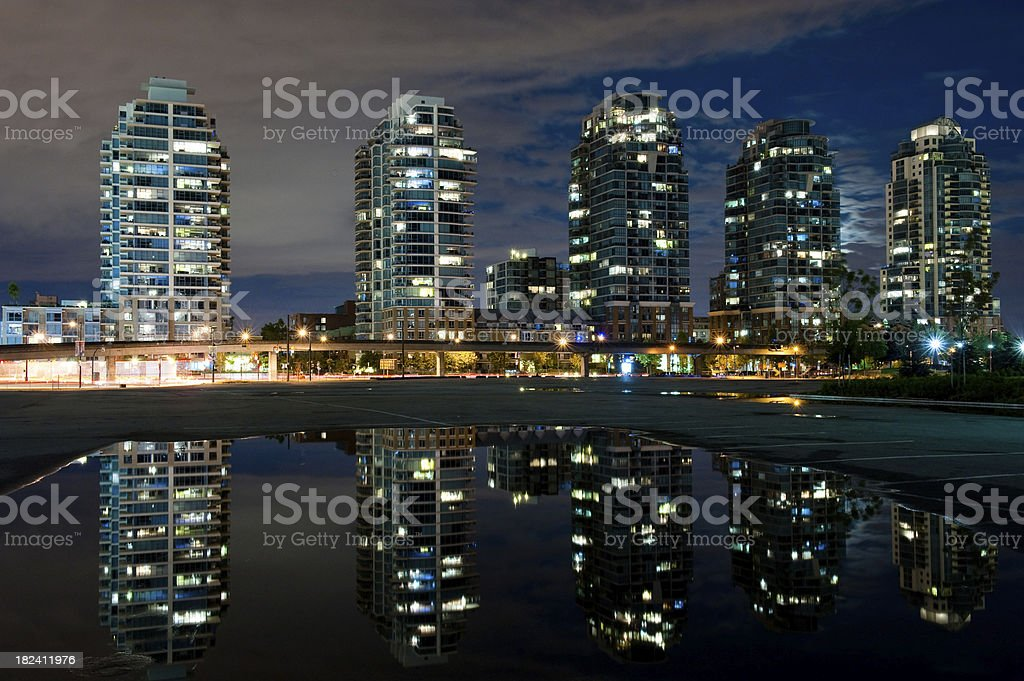 Condominium development royalty-free stock photo