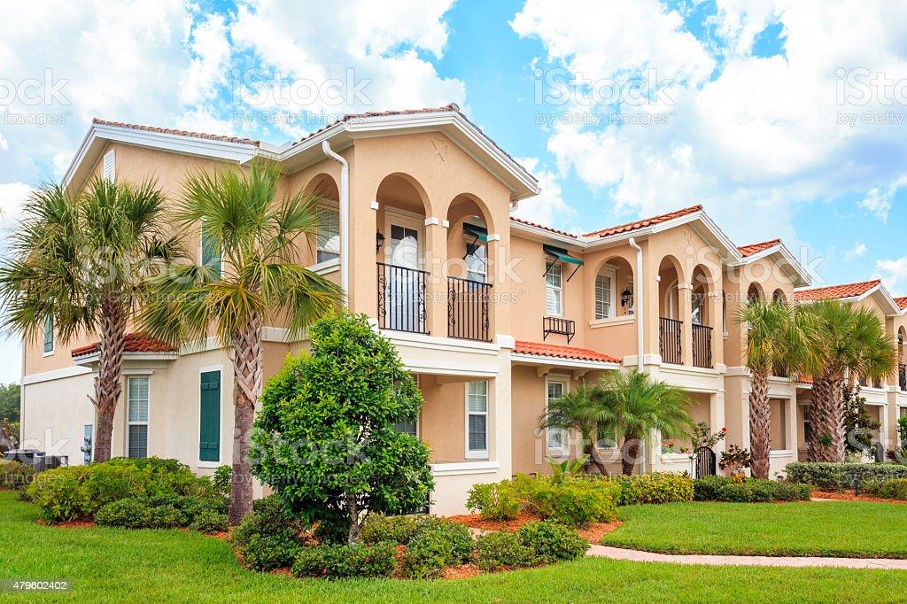 Condominium Living  in the Tropics stock photo