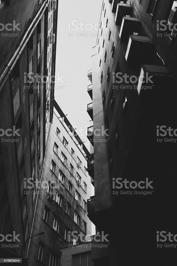Condominium stock photo