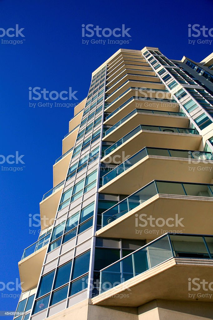 Condominium Tower, Barrie, Ontario stock photo