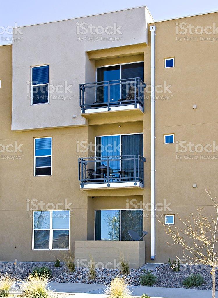 Condominiums, Apartments and Urban Housing stock photo