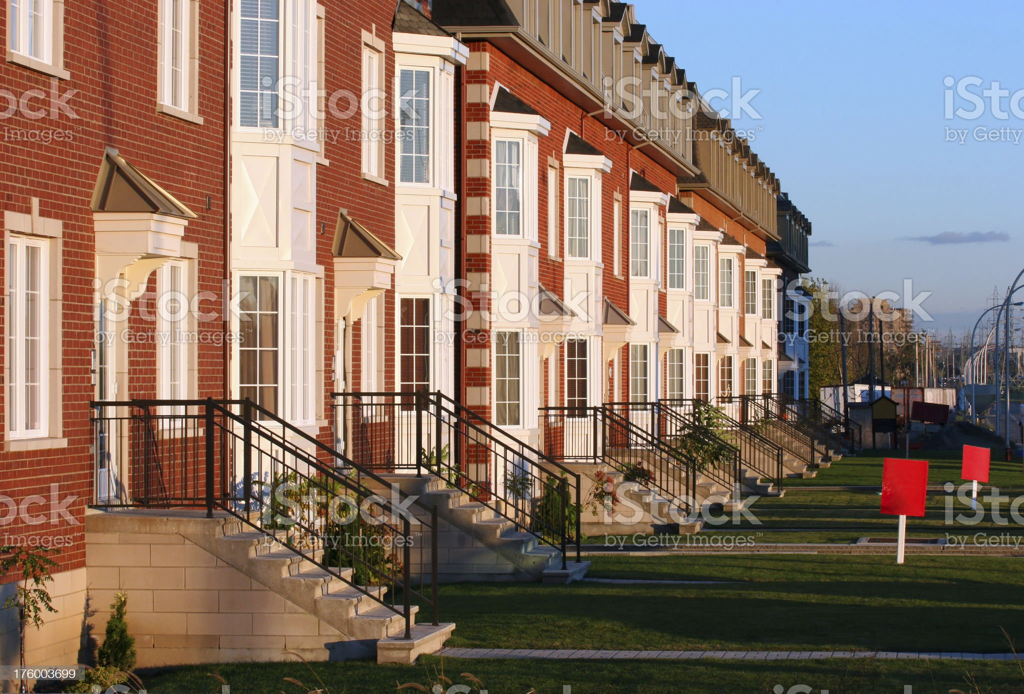 Condominiums for Sale royalty-free stock photo