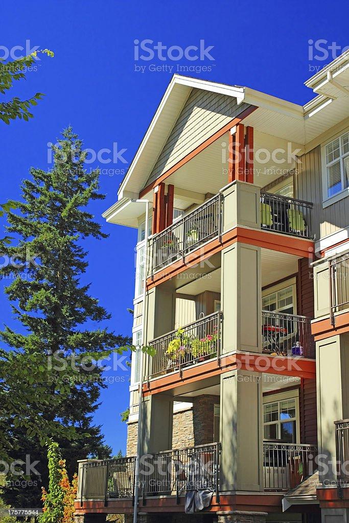 Condominiums royalty-free stock photo