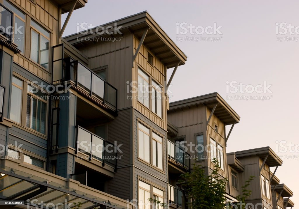 Condos for Sale royalty-free stock photo