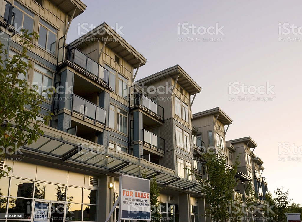Condos royalty-free stock photo