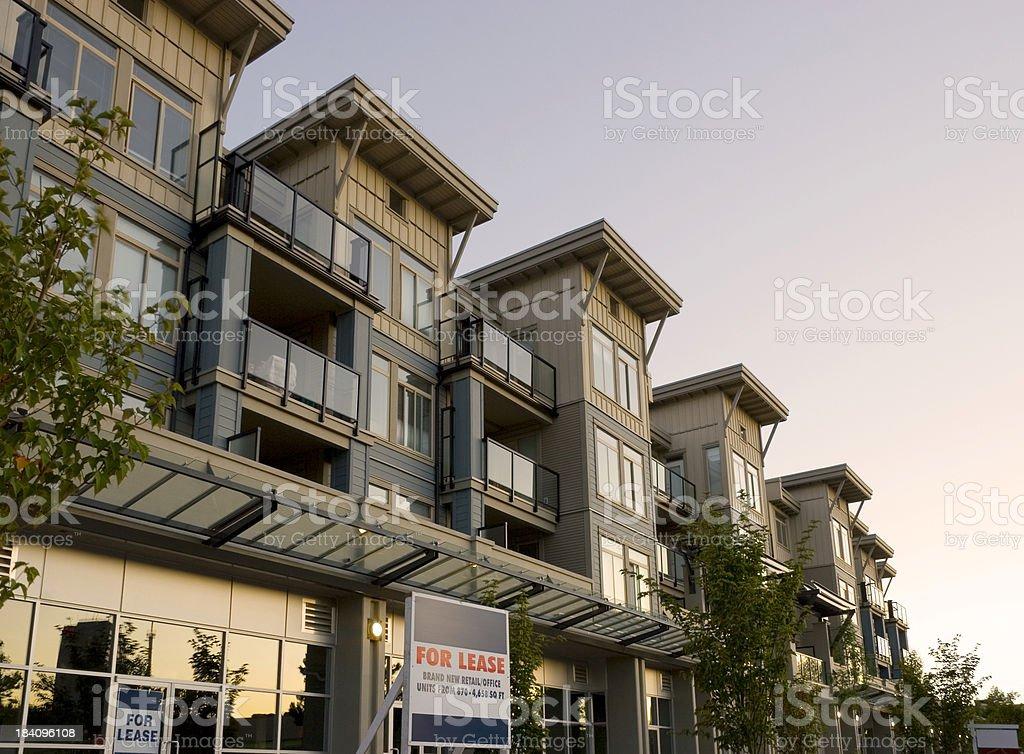 Condos stock photo