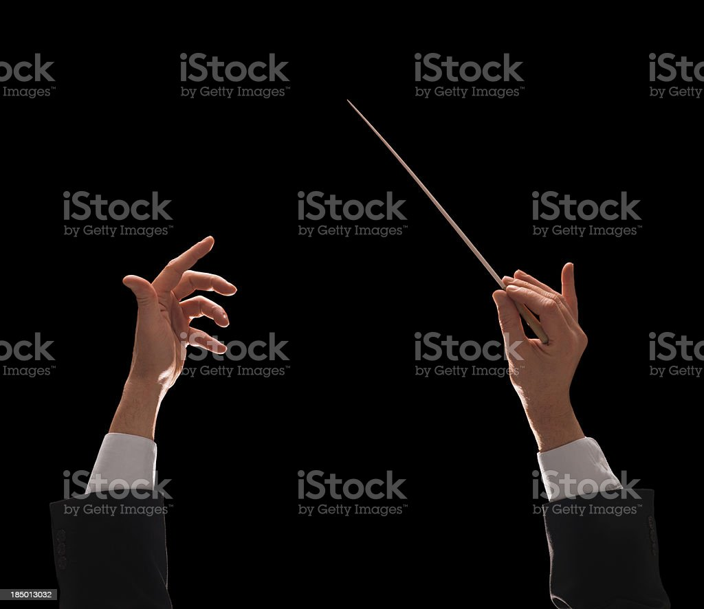 conducting buttons royalty-free stock photo