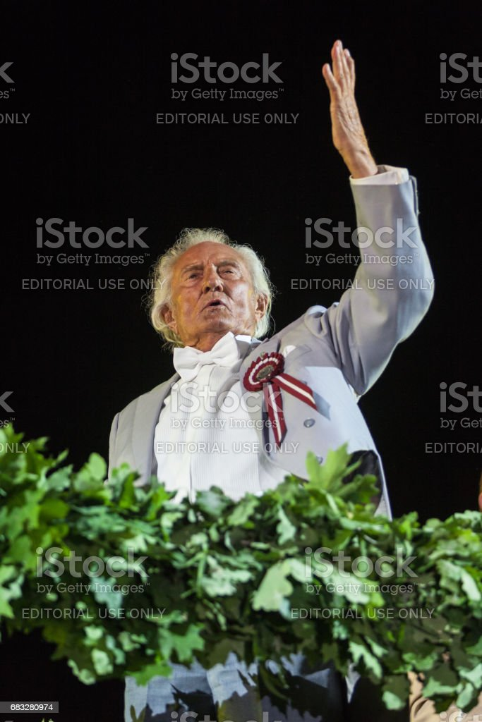 Conducts Gido Kokars stock photo