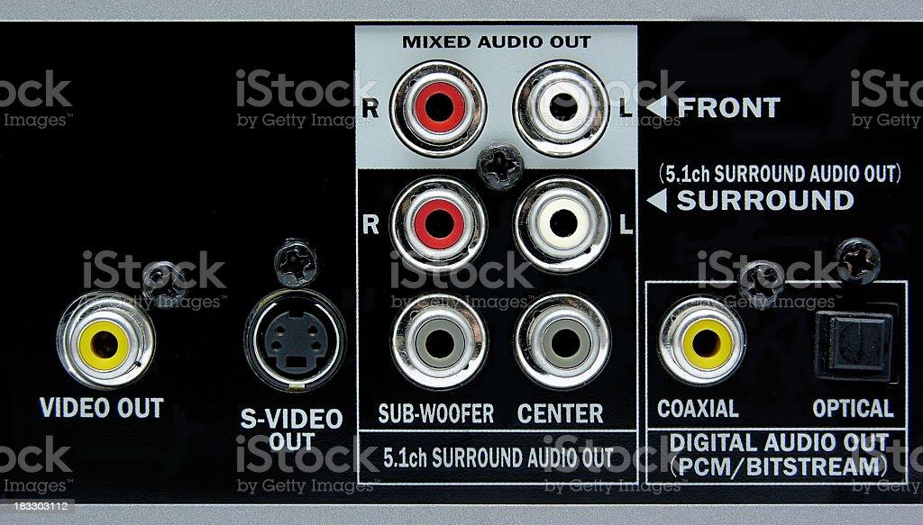 Conectors stock photo