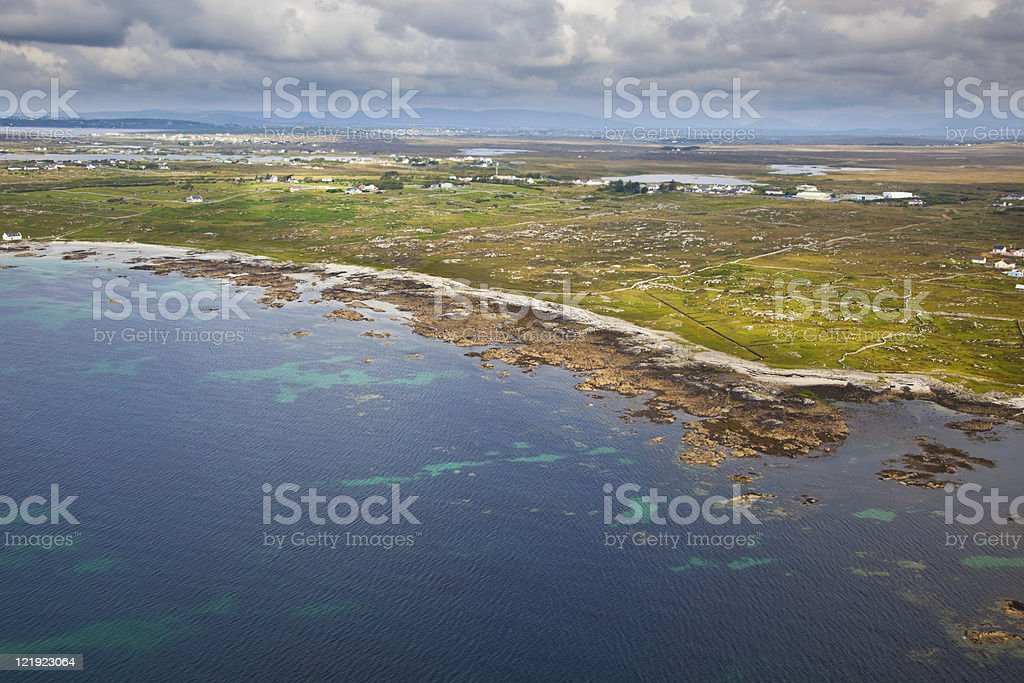 Conemara coast stock photo