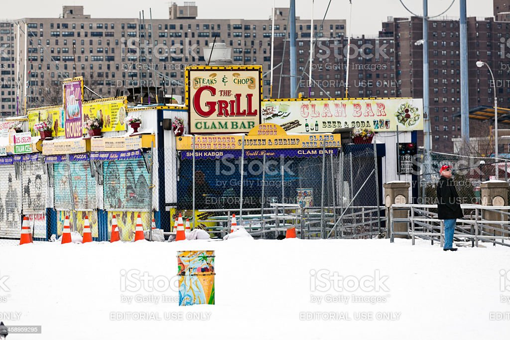 Coney Island New York royalty-free stock photo