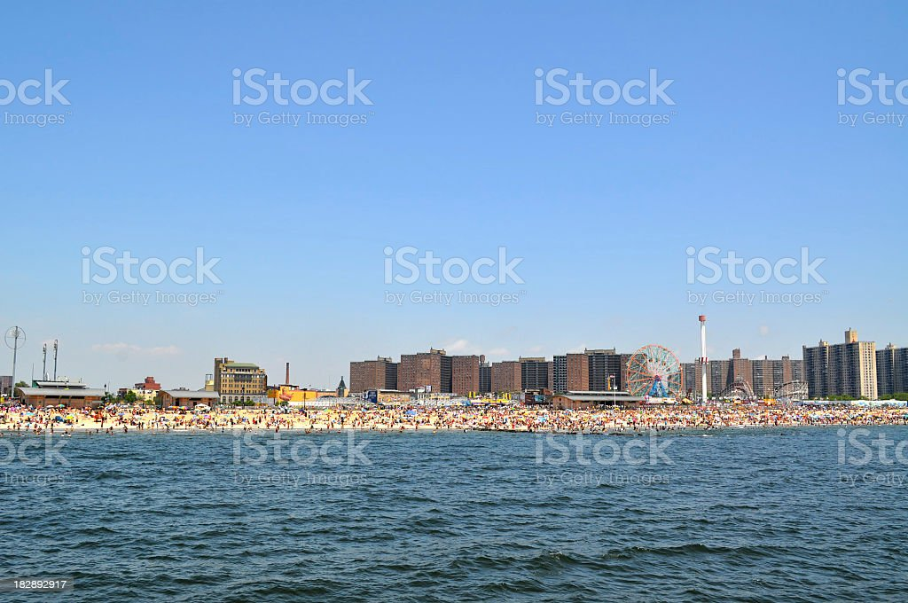 Coney Island royalty-free stock photo