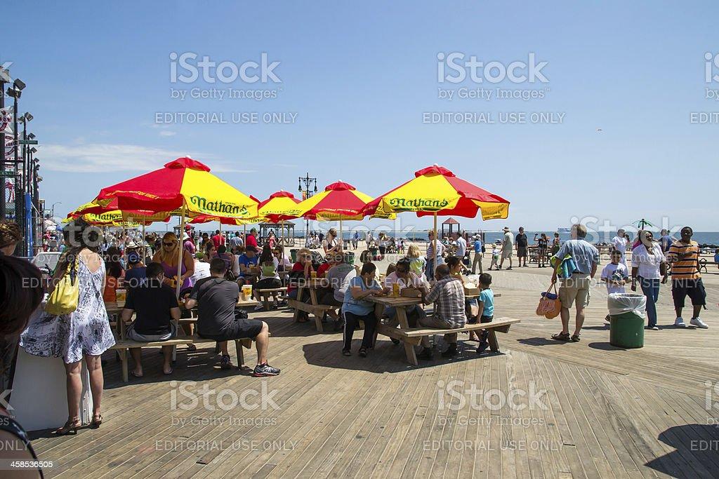 coney island royalty-free stock photo