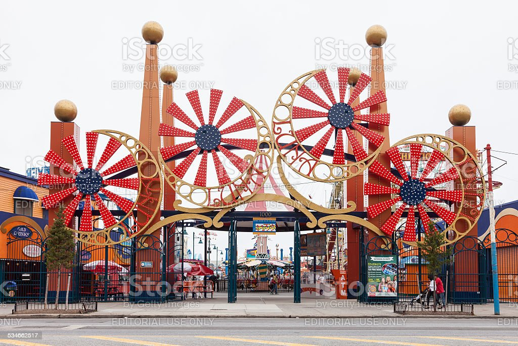 Coney Island's stock photo
