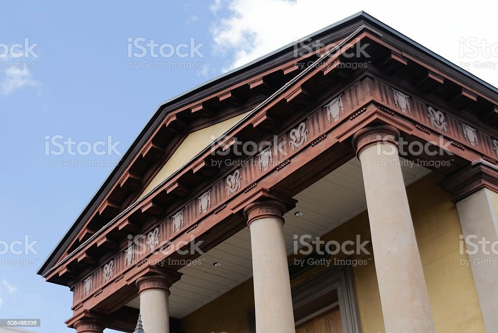 Confederacy Building, Charleston, South Carolina stock photo