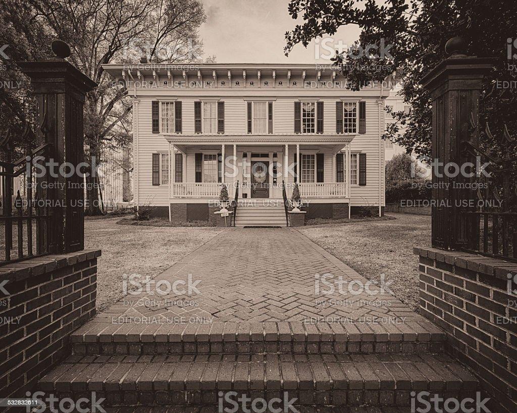 Confederacy White House stock photo