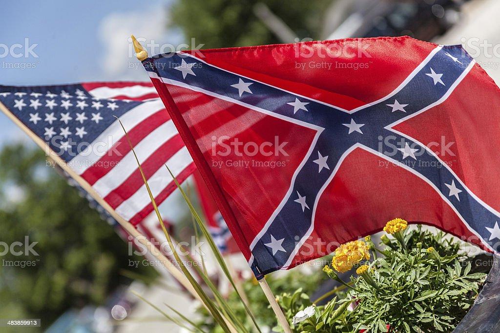 Confederate stock photo