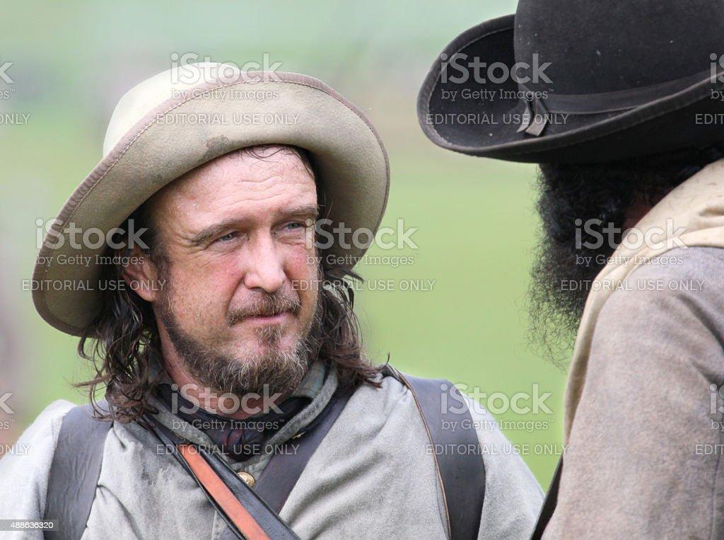 Confederates stock photo