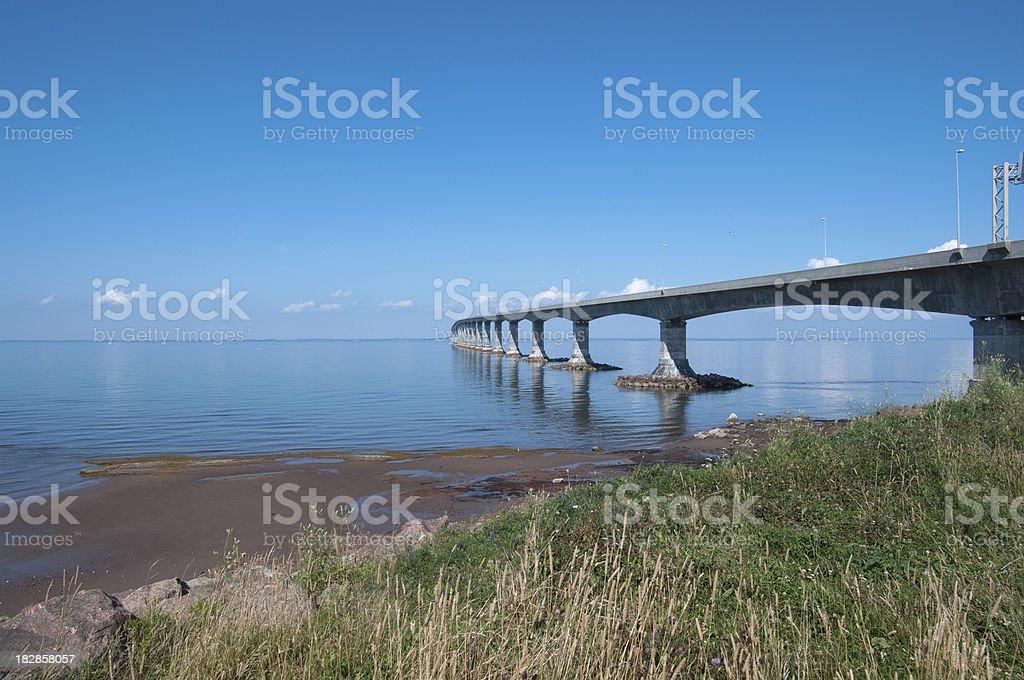 Confederation Bridge New Brunswick stock photo