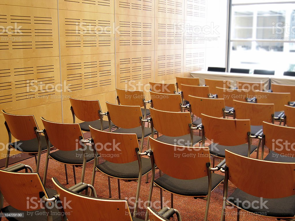 Conference 1 royalty-free stock photo