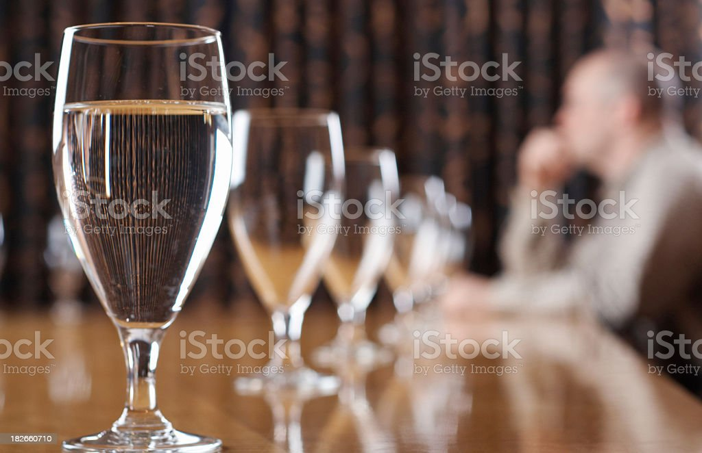Conference Anxiety stock photo