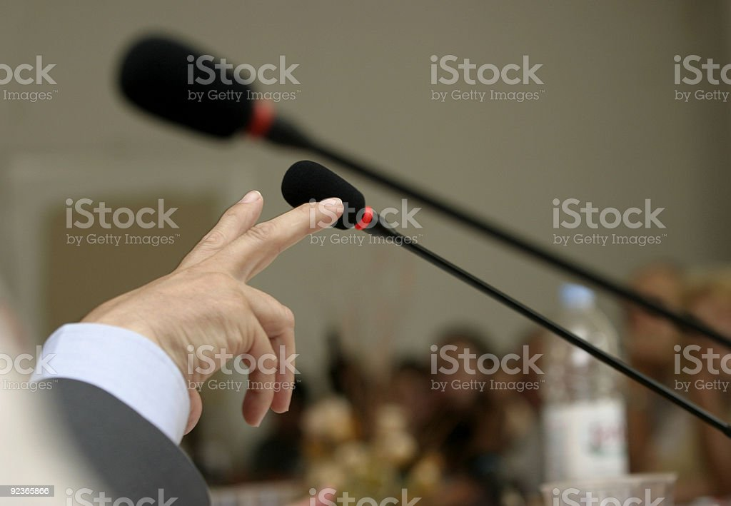conference business meeting royalty-free stock photo